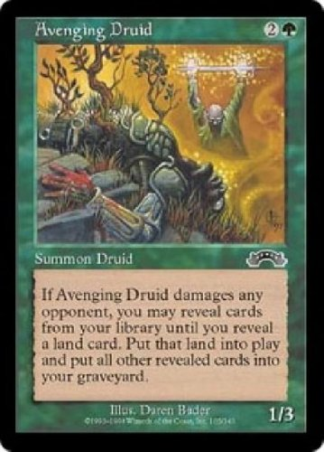 MTG Avenging Druid (Exodus) near mint card