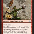 MTG Riot Piker (Dragon's Maze) Common