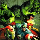 Avengers Assemble poster 24 x 36 inches Art by McNiven (brand new condition)