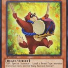 Yugioh Baby Raccoon Tantan (SHSP-EN015) unlimited edition near mint card Common