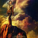 The Hunger Games Catching Fire Advance Promotional Movie Poster (2013) Jennifer Lawrence