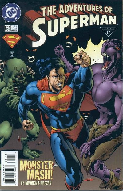 Adventures of Superman #534 (1996) near mint comic