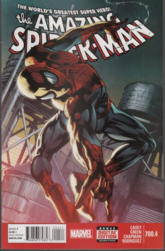 Amazing Spider-Man Spiderman #700.4 (2013) m/nm comic