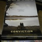 Conviction Double Sided Original Movie Poster 27x40 d/s