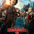 How To Train Your Dragon Advance Promotional Movie Poster d/s