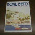 1975 NOAL BETTS NUT TREE PAINTED POSTER 18x24 VACAVILLE, CA