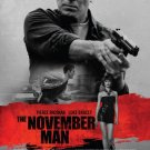 The November Man (2014) Movie Poster 27x40 Pierce Brosnan