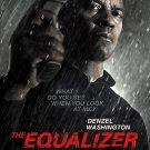 The Equalizer Movie Poster (2014) 27 x 40 d/s Denzel Washington