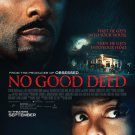 No Good Deed Advance Promotional Movie Poster (2014) Taraji P. Henson Idris Elba