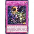 Yugioh Ritual Beast Ambush (SECE-EN074) 1st edition near mint card Common