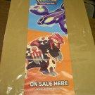 Pokemon Retailer Poster (2015) 12 x 34 inches Groudon & Kyogre