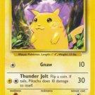 Pokemon Pikachu (Base Set One) unlimited Edition near mint card Common
