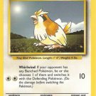 Pokemon Pidgey (Base Set One) Unlimited Edition near mint card Common