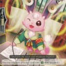 Cardfight! Vanguard Broadcast Rabbit (G-BT02/091EN) near mint card Common (Great Nature)