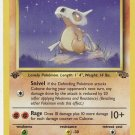 Pokemon Cubone (Jungle) 1st edition near mint card Common