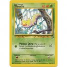 Pokemon Weedle (Base Set Two 2) #100/130 near mint card Common