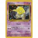 Pokemon Drowzee (Base Set One 1) #49/102 unlimited edition near mint card common