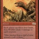 MTG Wildfire (Urza's Saga) near mint card Rare