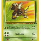 Pokemon Pinsir (Jungle) #59/64 Unlimited Edition near mint card Non holo Rare