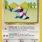Pokemon Porygon (Base Set One) #39/102 near mint card Unlimited Edition Uncommon