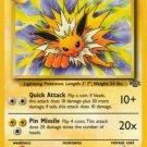 Pokemon Jolteon (Jungle) #20/64 Unlimited Edition near mint card Rare non holo