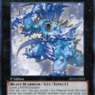 Yugioh Snowdust Giant (ABYR-EN049) 1st edition near mint card Silver Letter Rare