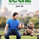 Ted 2 Advance Promotional Movie Poster Mark Wahlberg Seth Macfarlane FREE SHIPPING
