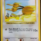 Pokemon Doduo (Base Set One 1) #48/102 near mint card common