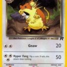 Pokemon Dark Raticate (Team Rocket) #51/82 Unlimited Edition near mint card Common
