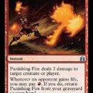 MTG Punishing Fire (Commander) near mint card Uncommon