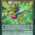 Yugioh Performapal Coin Dragon (MACR-EN005) 1st edition near mint cards Rare