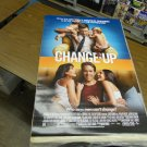 Change-Up Movie Poster (2011) 27 x 39 inches D/S Ryan Reynolds Jason Bateman FREE SHIPPING