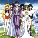 Vintage 1999 Sailor Moon Queen Serenity Sailor Senshi 22 x 34 inches