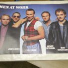 Vintage 1983 Men At Work Poster NEVER PREVIOUSLY DISPLAYED (23 x 35 inches)