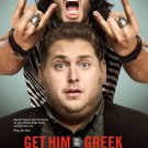 GET HIM TO THE GREEK MOVIE POSTER 2 Sided ORIG 27 x 40 inches DS JONAH HILL RUSSELL BRAND