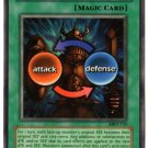 Yugioh Shield & Sword (MRD-131) unlimited edition near mint card Silver Letter Rare
