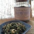 Ginger Mint Berry Organic Herbal Tea 2 oz. Loose Leaf Tea, Handmade in Brooklyn!