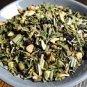 Ginger Mint Berry Organic Herbal Tea 2 oz. Loose Leaf Tea, Handmade in Brooklyn!