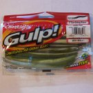 Berkley Gulp 5in Sinking Minnow Green Pumpkin Pearl Bass fishing lure tackle walleye GSM5-GPPE 032