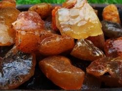 1000 Carat Lots of Unsearched Natural Carnelian Rough + a FREE Faceted Gemstone