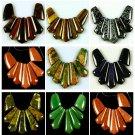 Tiger eye Unakite Snowflake SandStone Jasper Aventurine Rhodonite Beads set