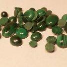 Melachite Gemstone set of 42 pcs For Jewellery Ring Pendant Earrings (686)