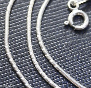 Sterling Silver 92.5% Four Pecs Snake Chain 18 Inches With Spring Lock (735)