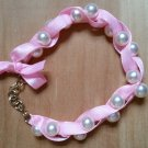 Ribbons and Pearls Bracelet