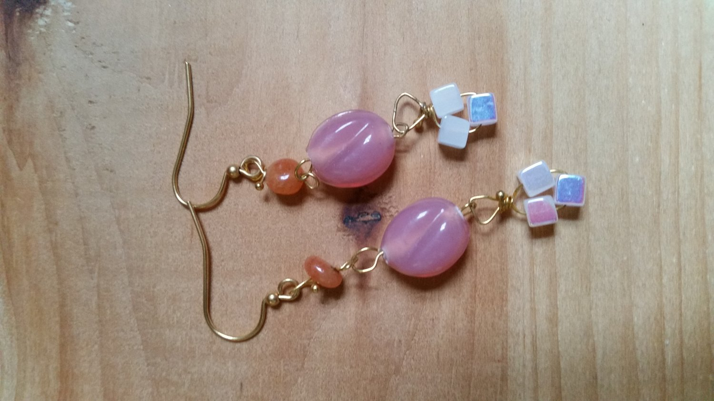 Pink Sorbet Earrings