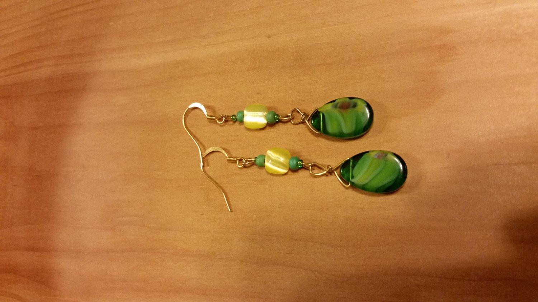 Citrus Leaves Earrings