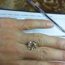 12.10 Carat Cushion Champagne VS1 100% Natural Certified CT Diamond Rare Find!!