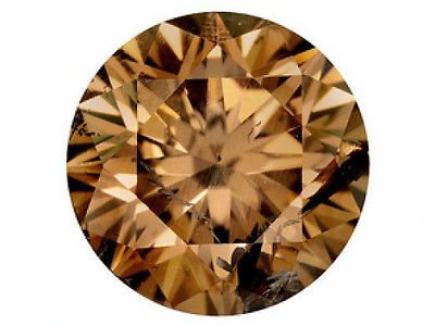 1.52 Carat GIA Fancy Brown SI1 Round Loose Diamond Certiifcate Available!