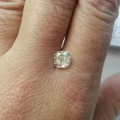 2.03 Carat Fancy Light Yellow Cushion VS2 100% Natural Diamond Non Enhanced Rare