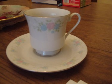 China Garden Tea cup & Saucer Jian Shiang